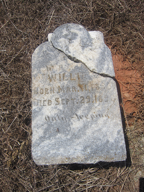 Addie Lee Williams (1889-1891)