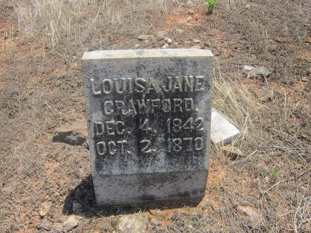 Louisa Jane (Williams) Crawford (1842-1870)