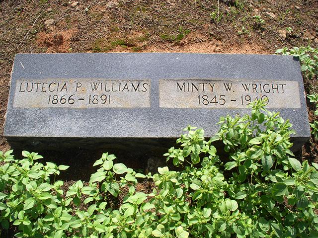 Lutecia E. (Power) Williams (1866-1891)