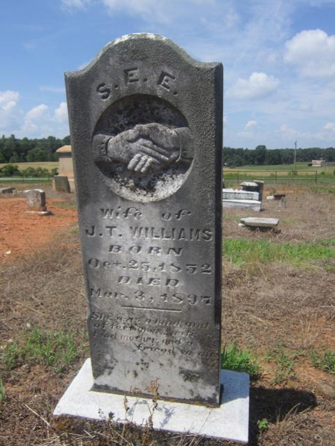Sisily E E (Bennett) Williams (1852-1892)