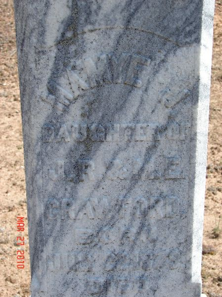 Mamye J Crawford (1879-1899)