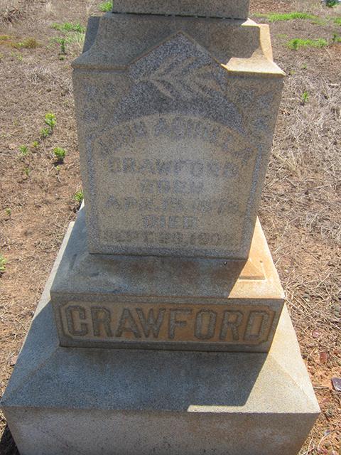 John Aquilla Crawford (1878-1902)